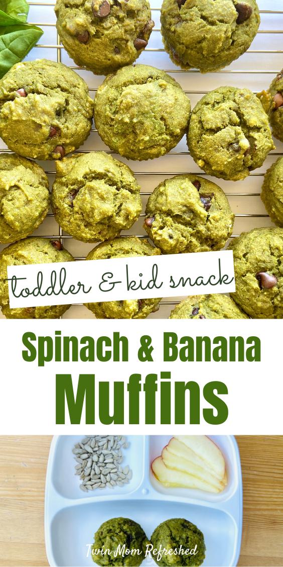 Easy Spinach Banana Muffin Recipe