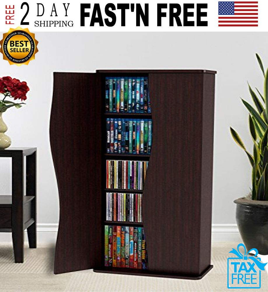 details about media storage cabinet game dvd movie tower stable rh pinterest ca