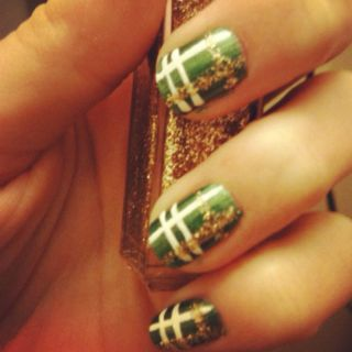 St Pattys Day plaid!