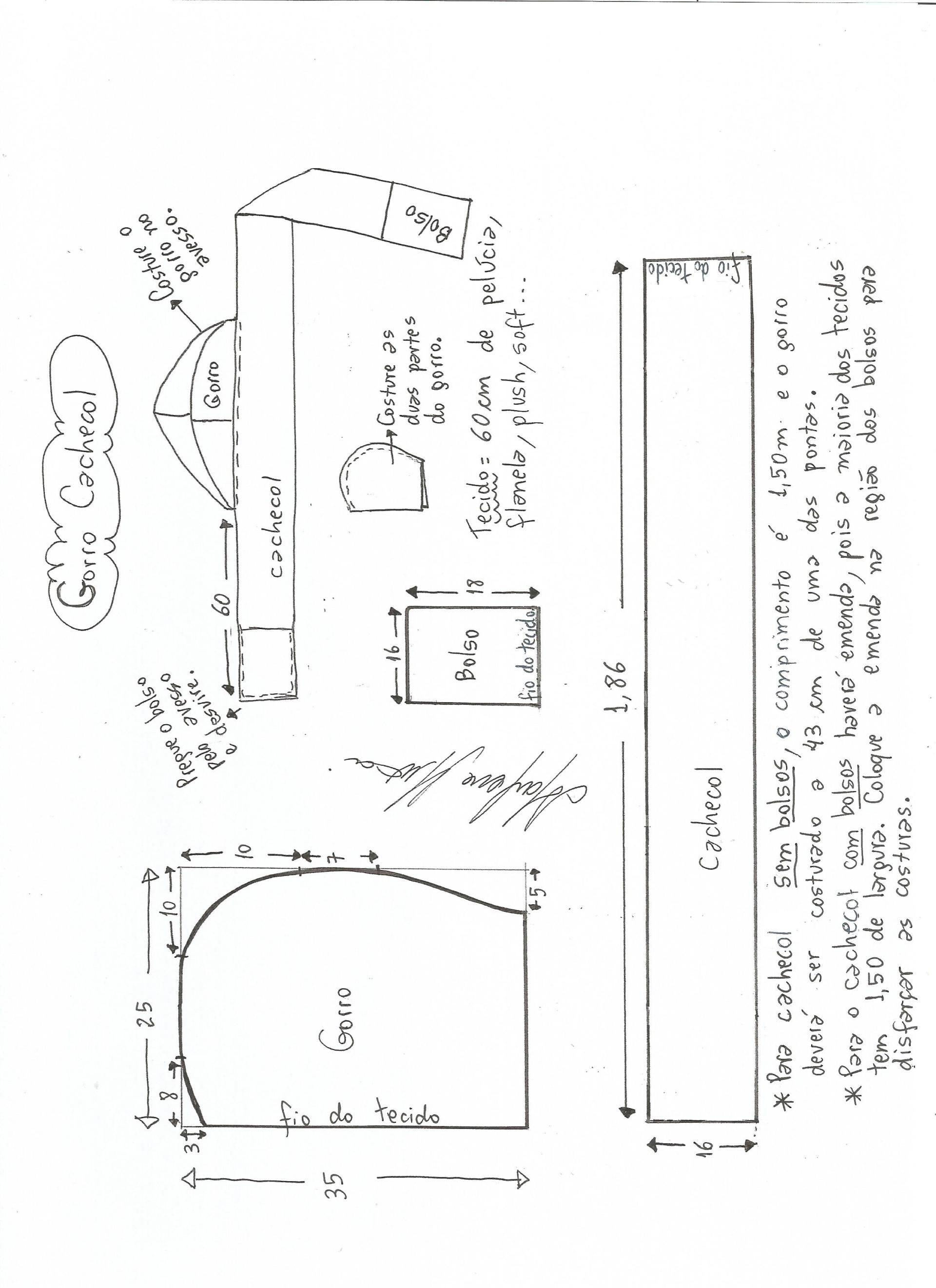 Patrón de Bufanda con capucha | Sewing Ideas | Sewing, Sewing ...