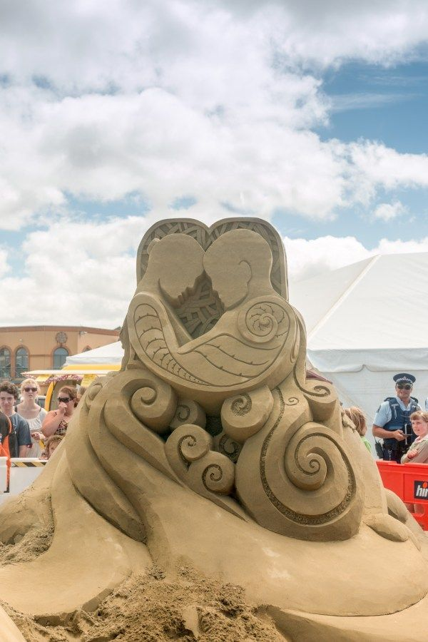 New Zealand Sandcastle competition