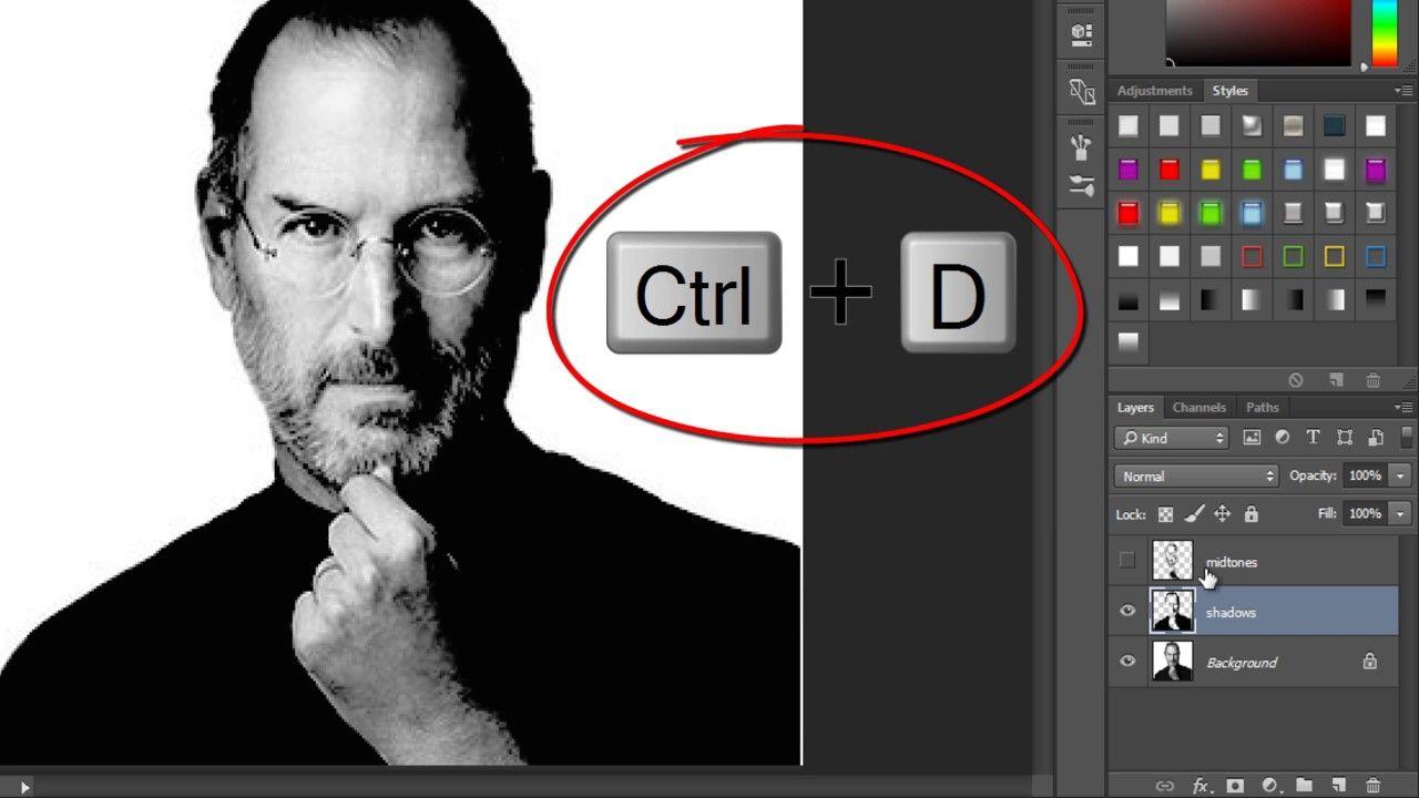 Vídeo Aula Adobe Photoshop CC. Foto a partir de Texto