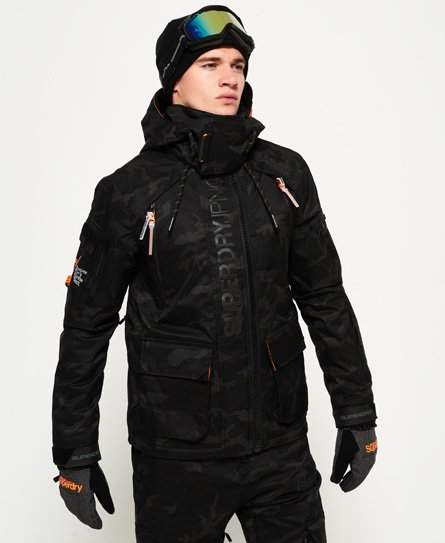 Superdry Ultimate Snow Rescue Jacket Snowboarding Outfit Jackets Mens Jackets