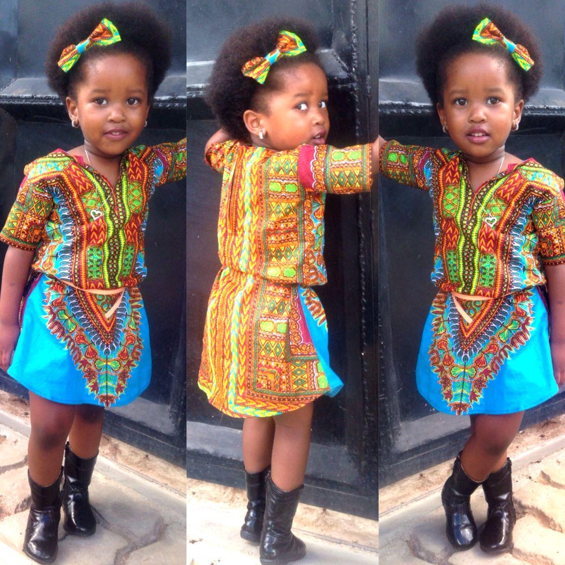 Children's Dresses in Tanzania