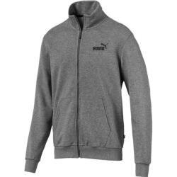Puma Herren Sweatjacke Ess Track Jacket Tr, Größe L In Medium Gray Heather, Größe L In Medium Gray H #beautyessentials