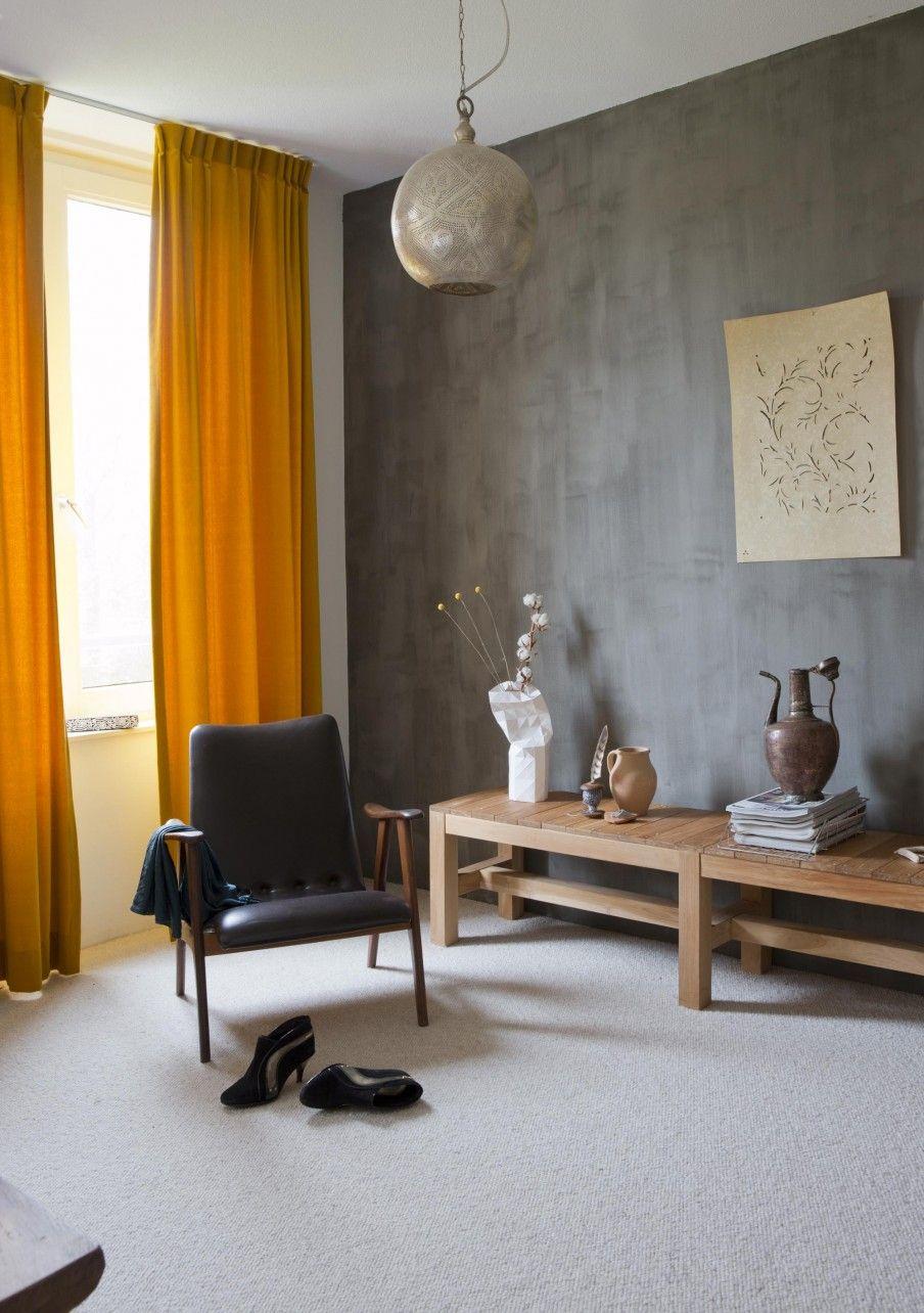 Nieuwbouwhuis in Ede  Home  Gele gordijnen Gordijnen en