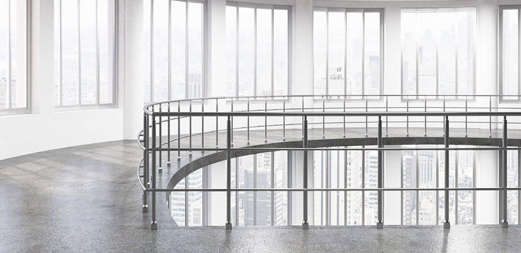 Florida Aluminum Railings By Fabri Tech Florida Fabrication In 2020 Aluminum Fabrication Staircase Design Interior Stair Railing