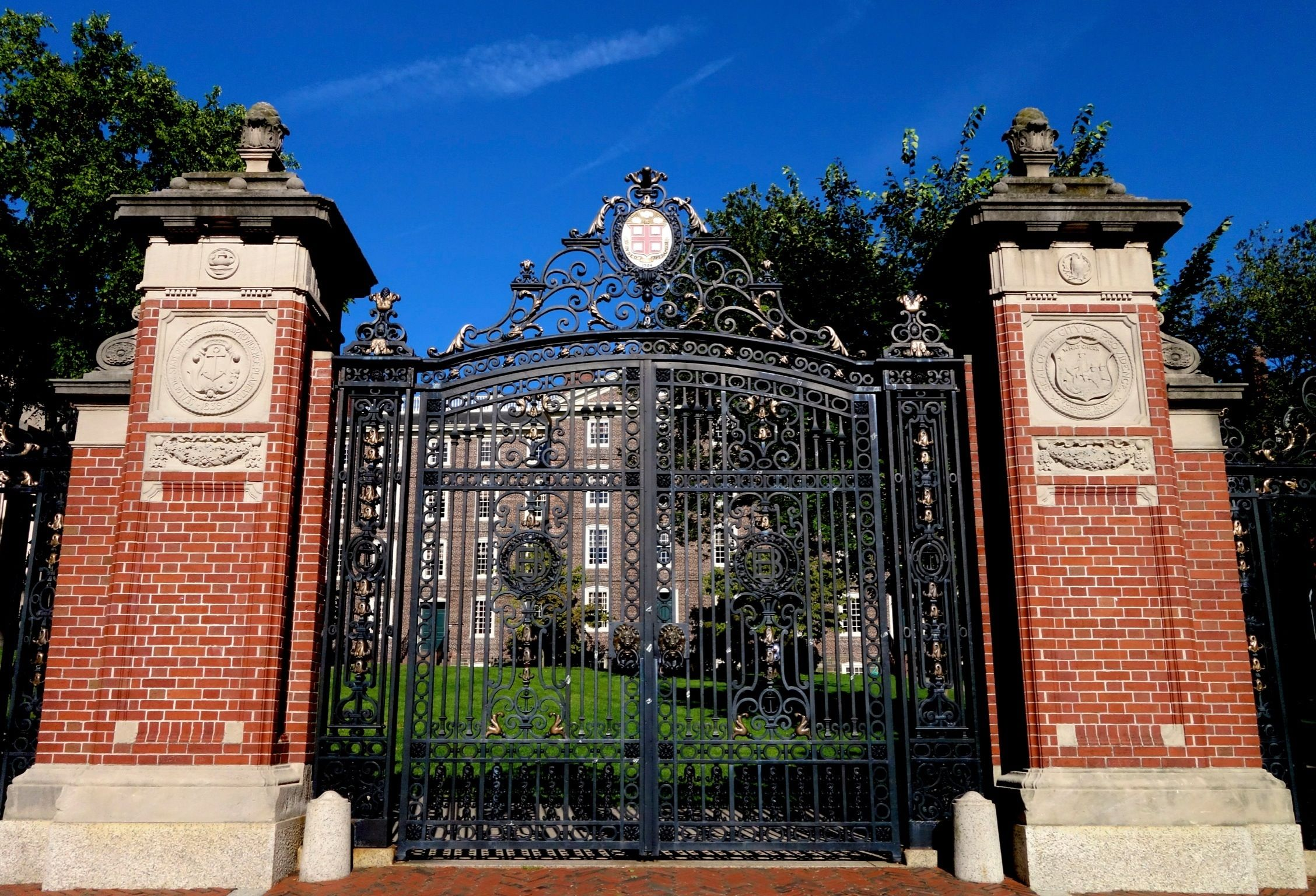 Brown University ~ Van Wickle Gates ~ Providence, Rhode Island