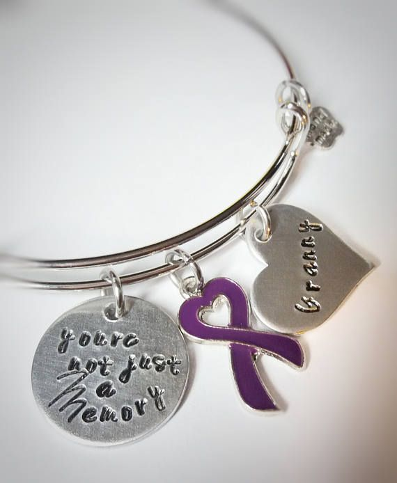 db0cb13ea90 Alzheimer's Awareness - Alzheimer Bracelet - You're not just a Memory - Dementia  Awareness