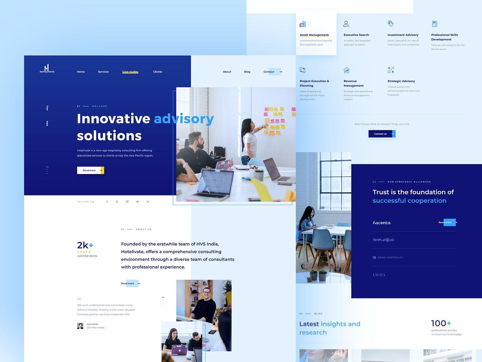 Hotelivate WordPress Web Design