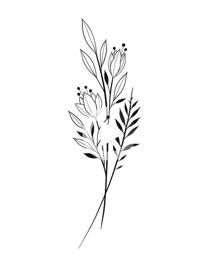 50 conceptions de tatouage floral pour les femmes 2019 - Page 19 sur 5