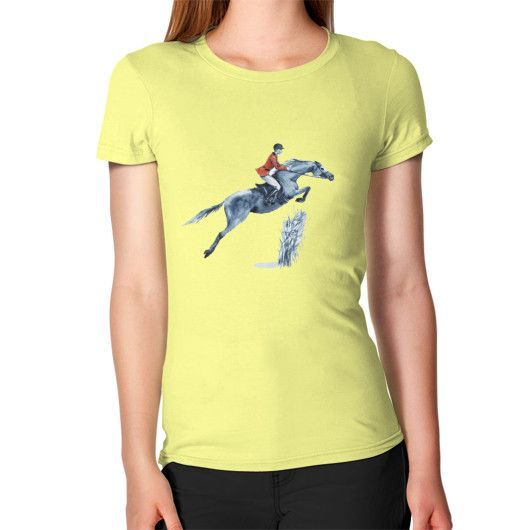 Jumping Rider - Women's T-Shirt