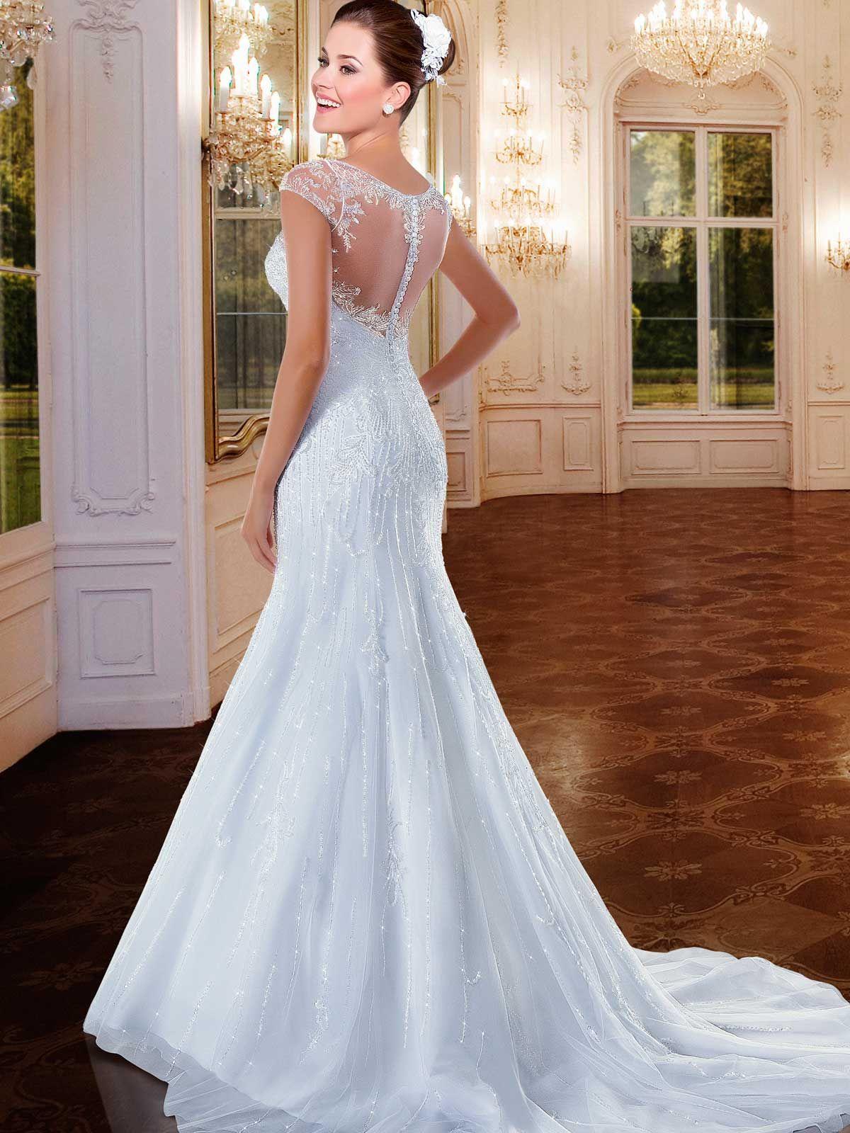 Versalhes 25 | Trumpet wedding dress | Pinterest | Trumpets, Wedding ...