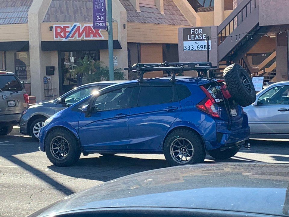 Doug Demuro Tweeted Out A Picture Of This Beast Hondafit Honda Fit Jazz Honda Fit Honda Jazz