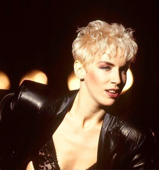 Annie Lennox From Redferns Getty Lesbian Hair Annie Lennox