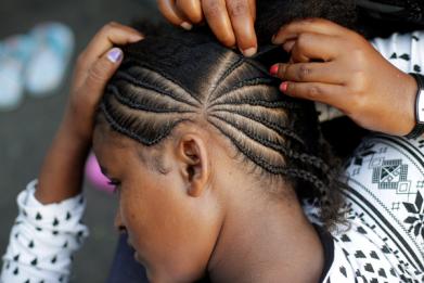wanda dorn wearing hair brades gets black girls detention