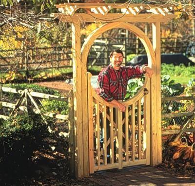 Garden   Garden Gate   Item #906   Season 9 | Circle Gate Arbor