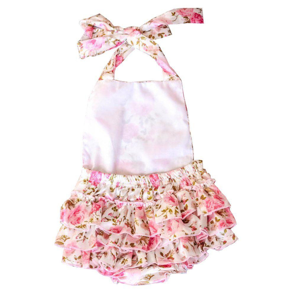 21b5e54b983c Ruffle romper · Amazon.com  Volantes mameluco de vestir ropa de verano  Lisianthus de los bebés  · Amazon ComWear ClothesFashion InfantSummer