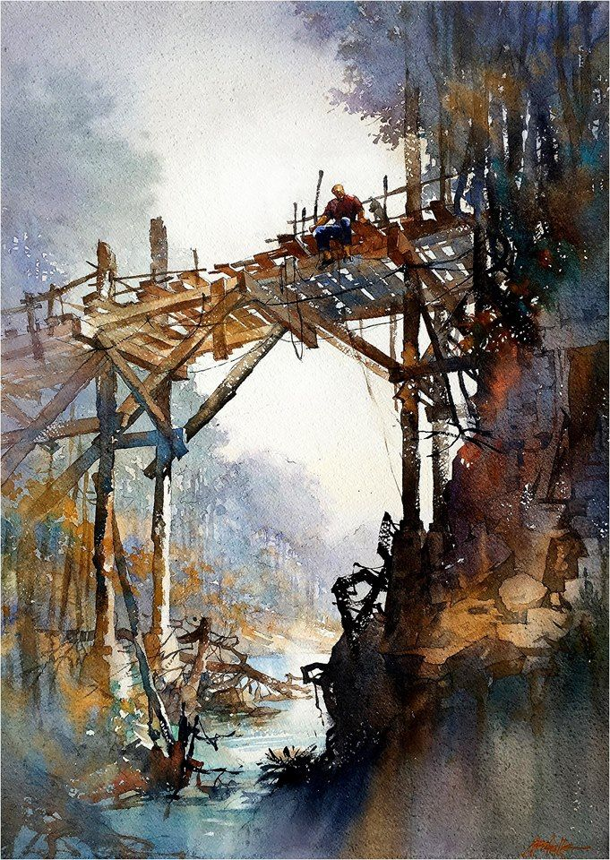 Thomas W Schaller Watercolor Artist Great To Learn That My