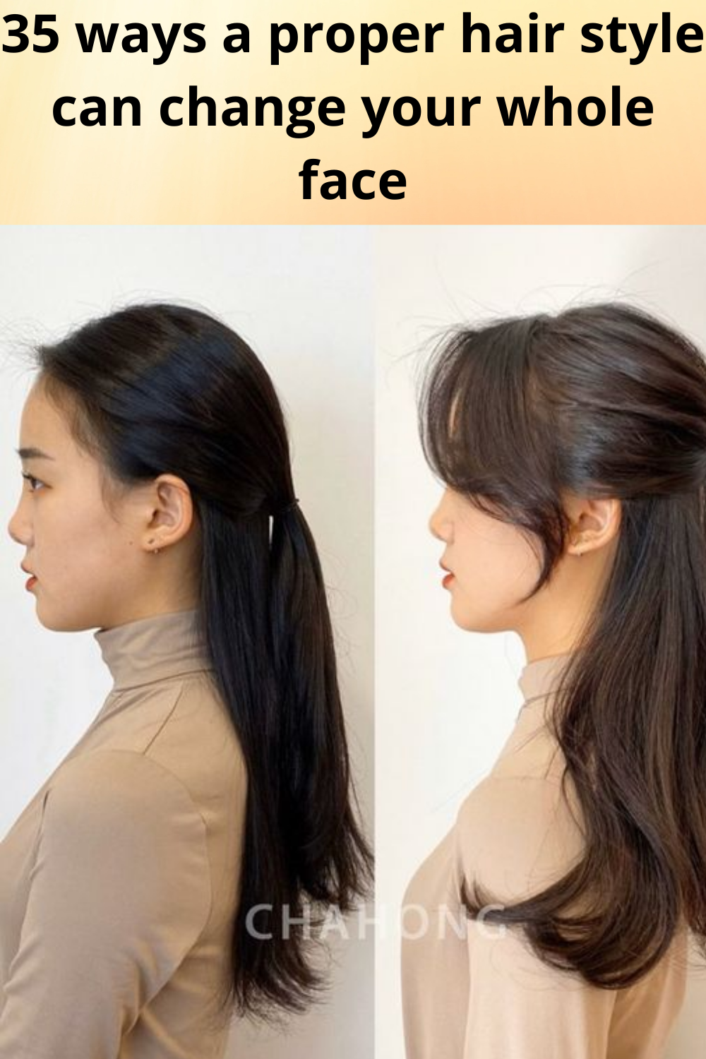 35 ways a proper hair style can change your whole