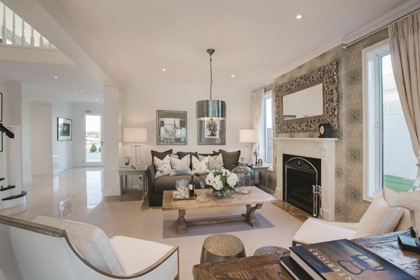 Formal Lounge Room In The Classic Hamptons Interior Style