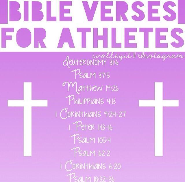 bible verses for athletes sports pinterest bible