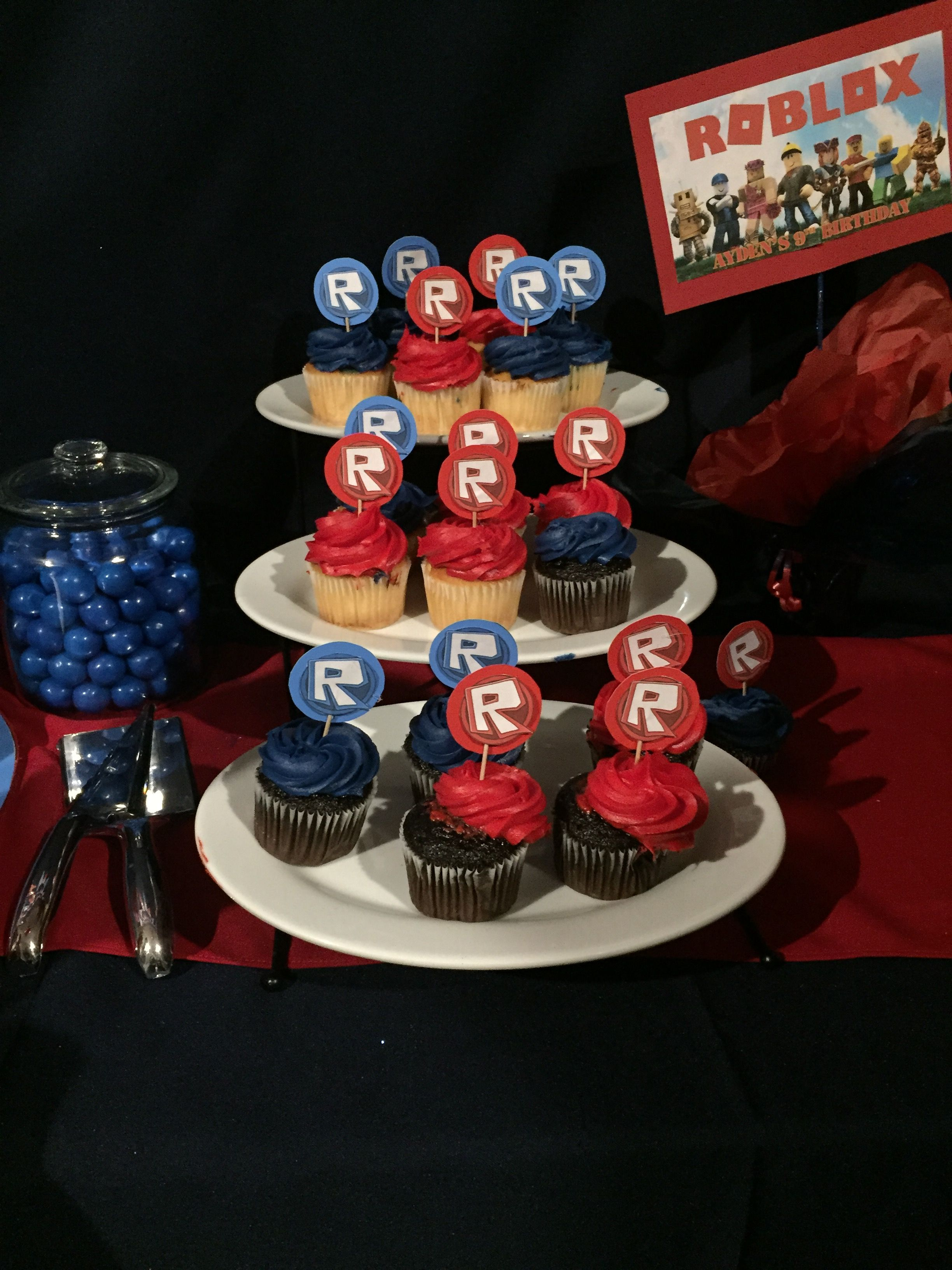 Roblox cupcakes | Roblox party in 2019 | Roblox birthday