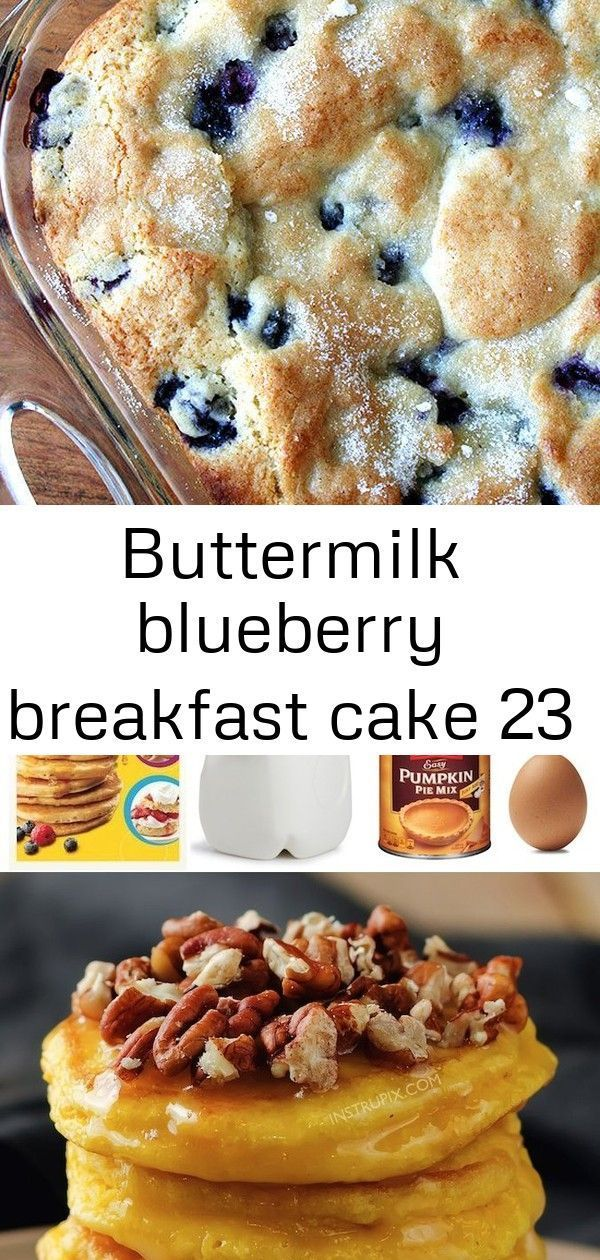 Buttermilk blueberry breakfast cake 23 #buttermilkblueberrybreakfastcake Buttermilk Blueberry Breakfast Cake — this simple cake is a family favorite. I look forward to making it every spring/summer when the blueberries begin arriving at the market, but it works well with frozen berries, too. #blueberries #breakfast #cake #buttermilk #brunch #spring #summer Easy Pumpkin Pie Pancakes Recipe (made with Bisquick) Chicken Carbonara recipe with Bacon, chicken and cheesy pasta perfection! An easy way
