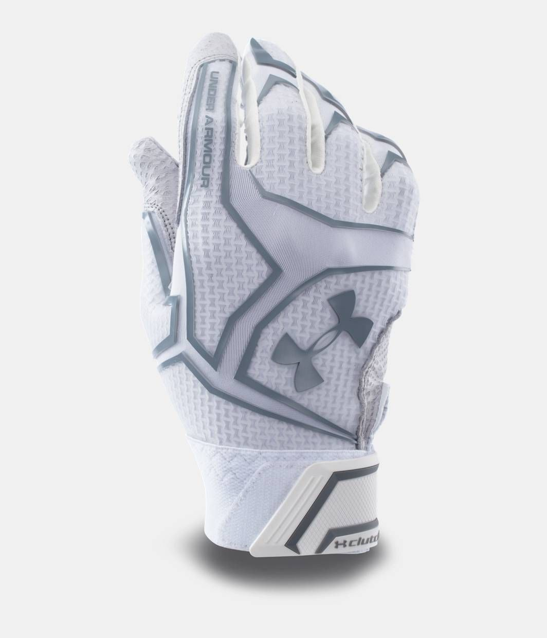 white under armour highlight gloves