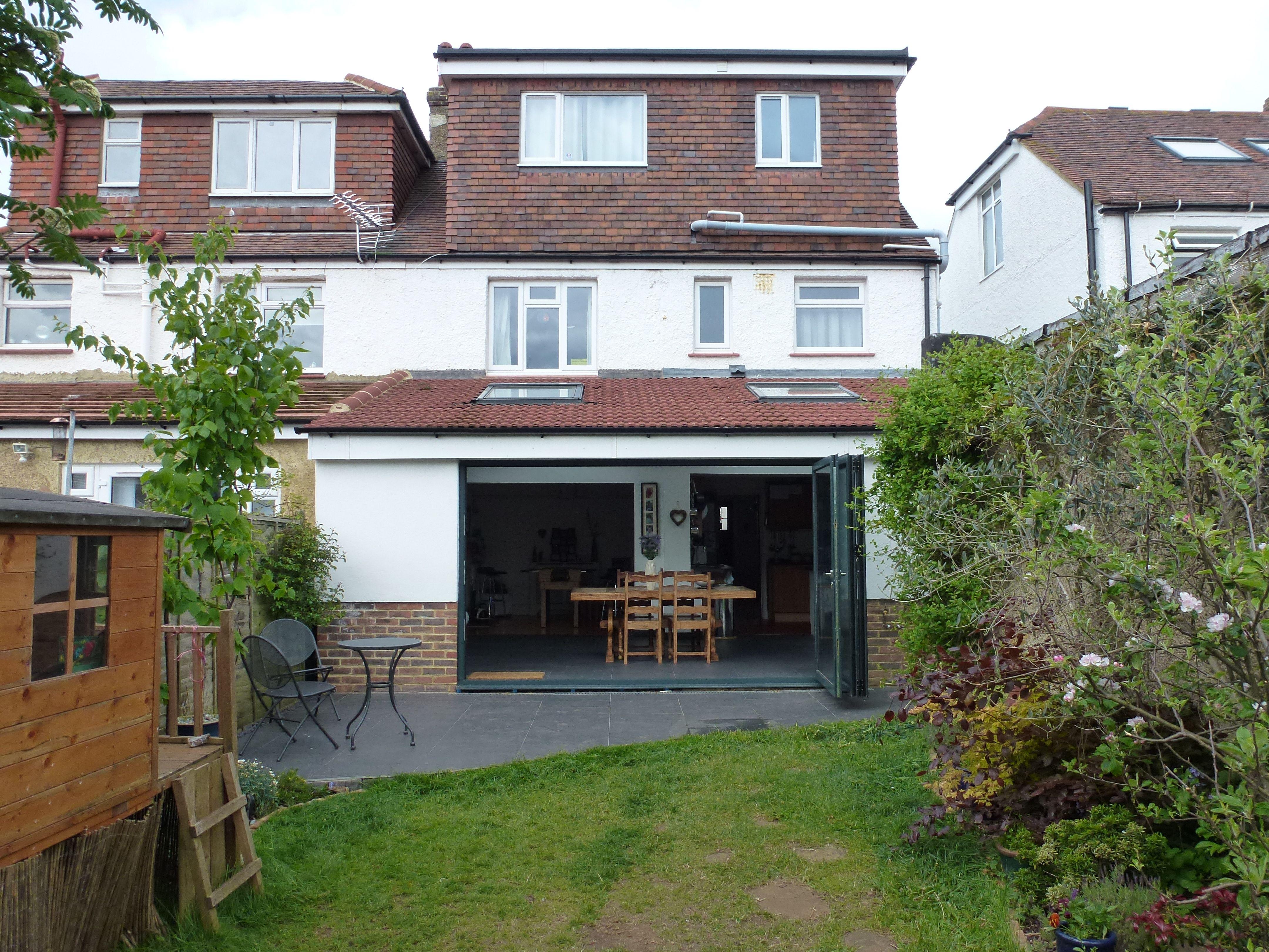 Rear flat roof dormer | Permitted Development | Tile ...