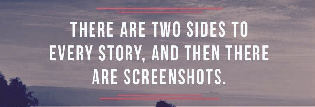 Two Sides To A Story Facebook Cover Facebook Cover Quotes