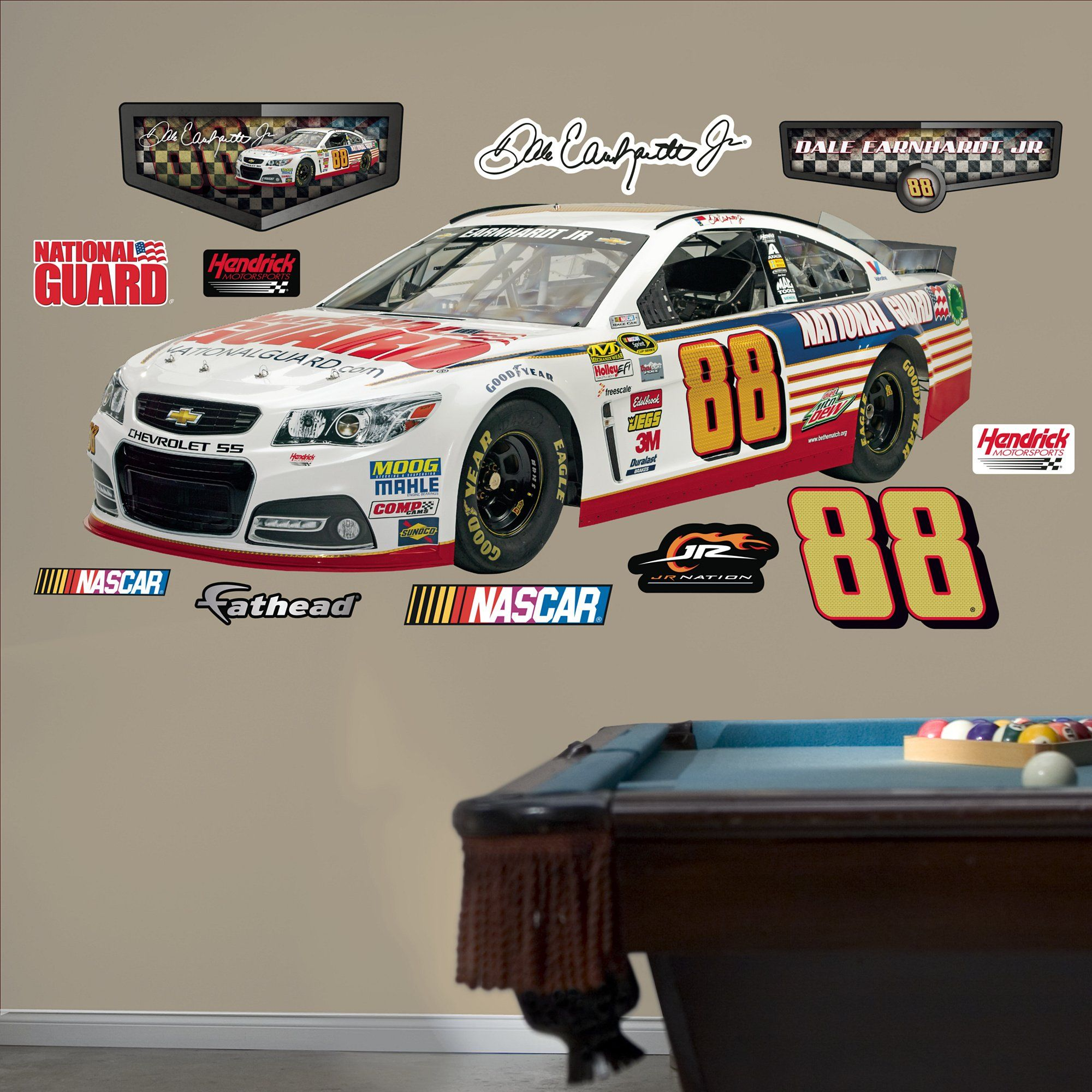 Nascar Bedroom Decor
