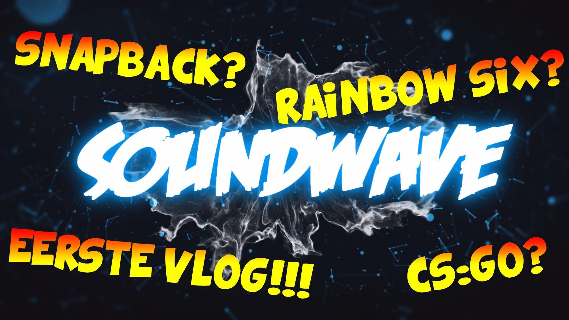 Eerste vlog op het kanaalcsgorainbow sixsnapback
