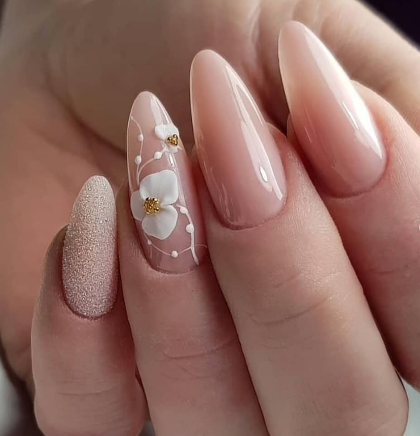 64 Chic Natural Almond Acrylic Nails Shape Design You Won't Resist This Spring... - New Ideas