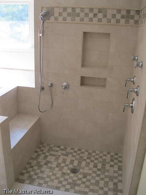 Master Bathroom Shower Loving The Seat Need More Space For