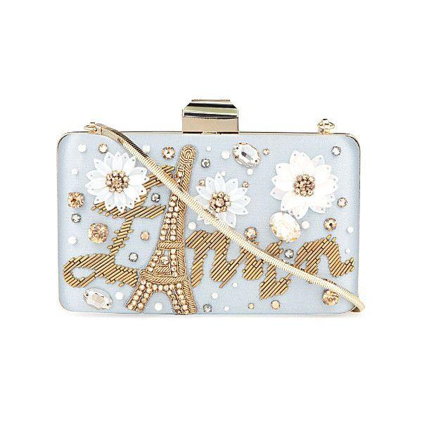 Embellished box clutch - LANVIN - Shop Women - Bags | selfridges.com ($1,910) via Polyvore
