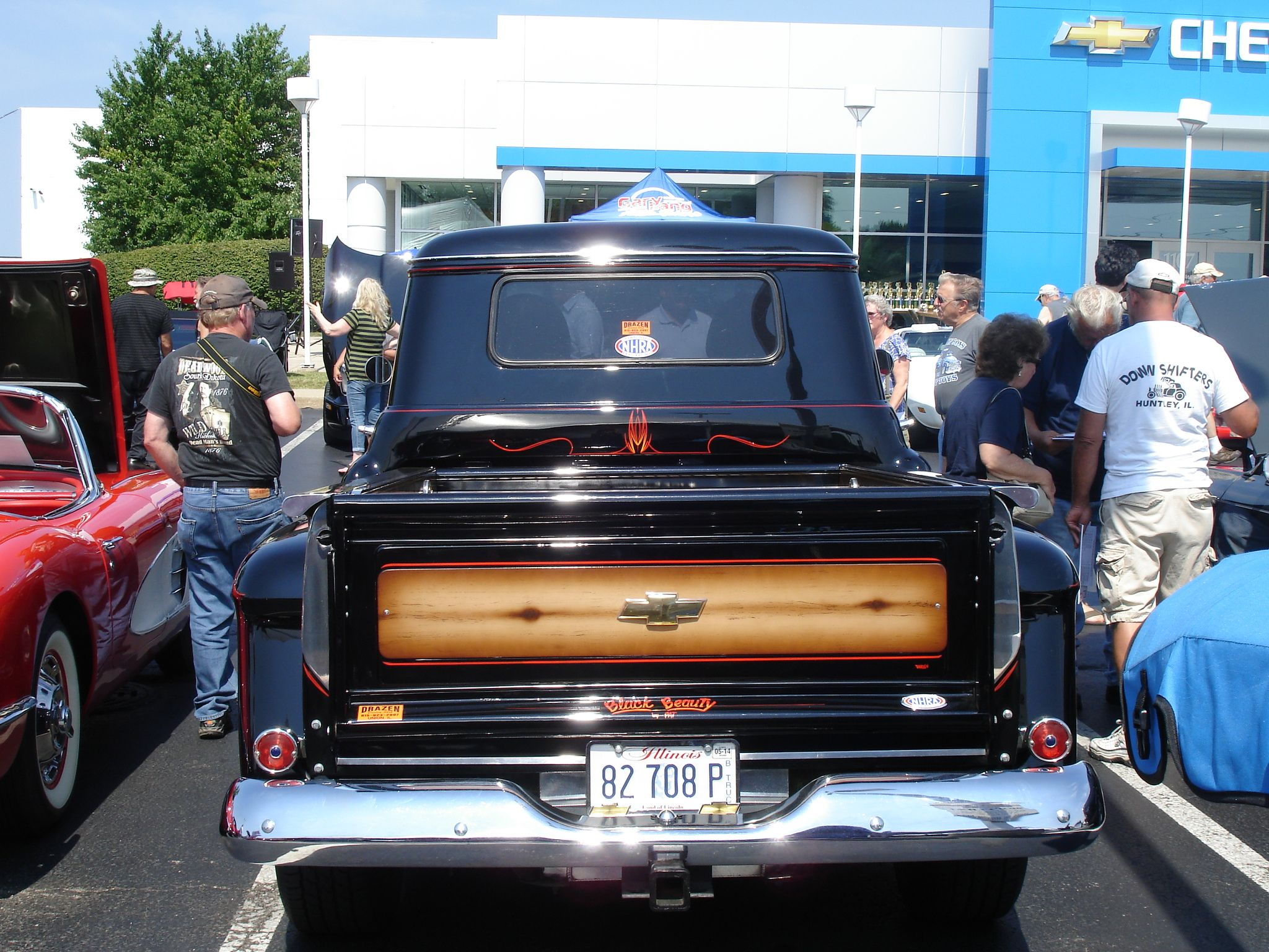 Chevy Truck at Gary Lang Auto Group s Car Show