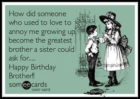 Your Ecards Birthday Funny ~ Funny birthday quotes for brother from sister happy birthday