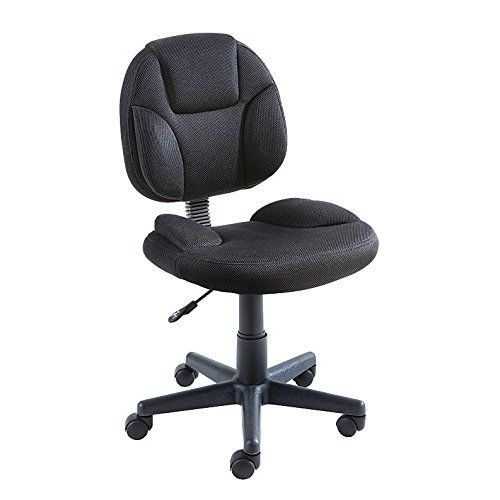 Brenton Studio Battista Fabric Low-Back Task Chair Black  sc 1 st  Pinterest & Brenton Studio Battista Fabric Low-Back Task Chair Black ...