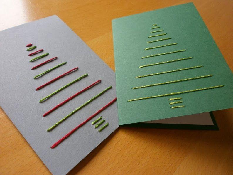 edeltraud mit punkten weihnachtskarten sticken. Black Bedroom Furniture Sets. Home Design Ideas
