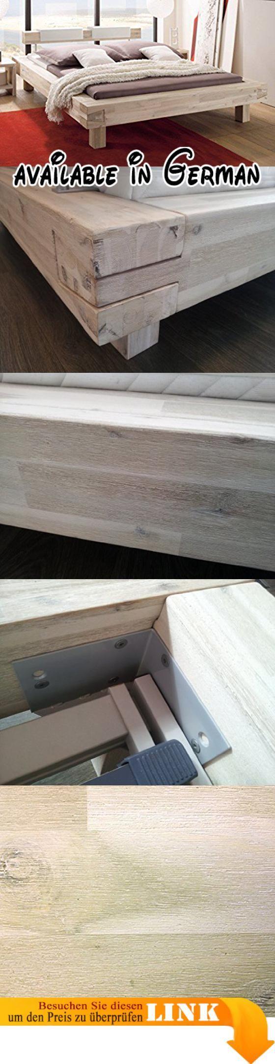 B00OP4ELY8 : HASENA Bett Pescara Akazie gebürstet lackiert 25cm Füße ...