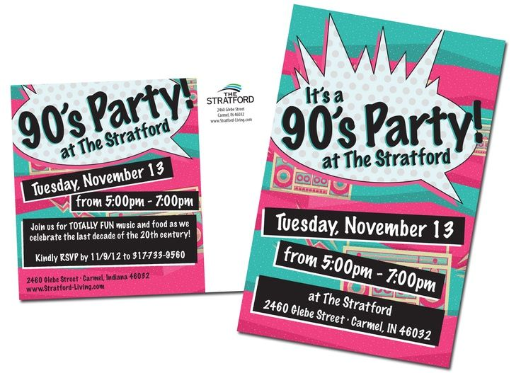 90s Themed Party Invitation Google Search 1990s Toast Taste
