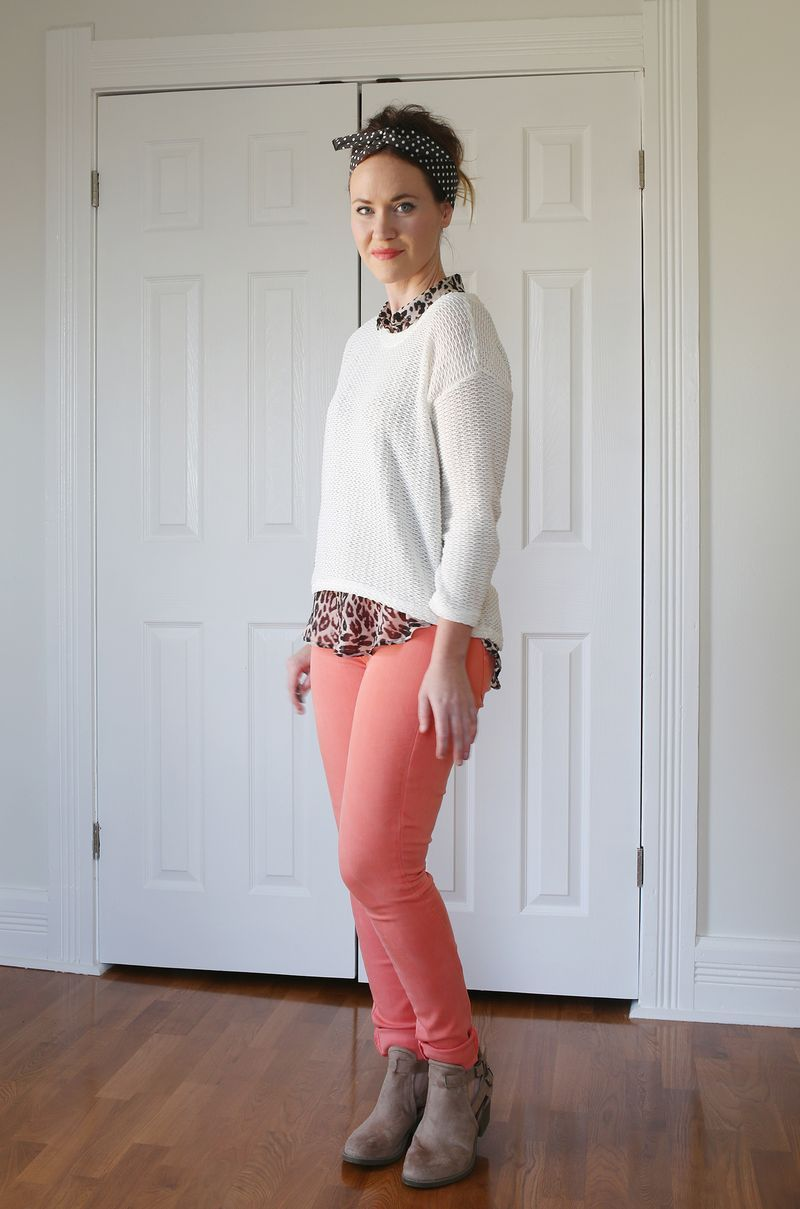 How to peach wear colored jeans best photo