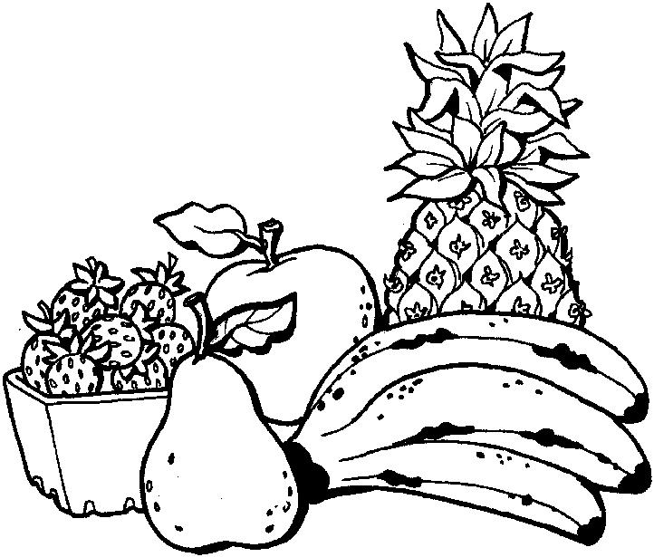 mewarnai tumbuhan buah