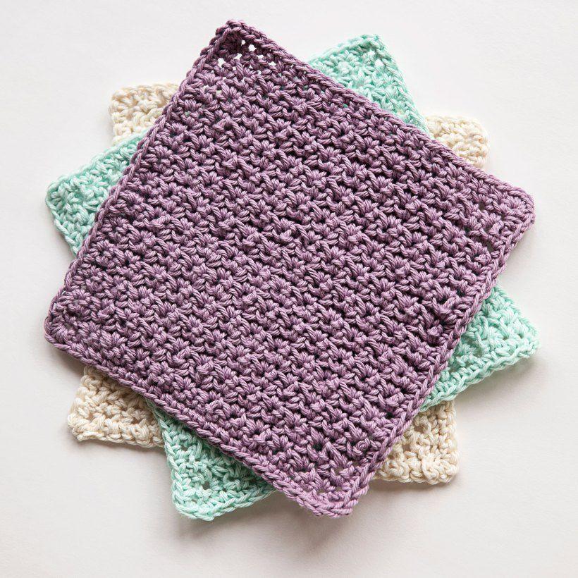 Favourite Crochet Washcloth | Washcloths | Pinterest