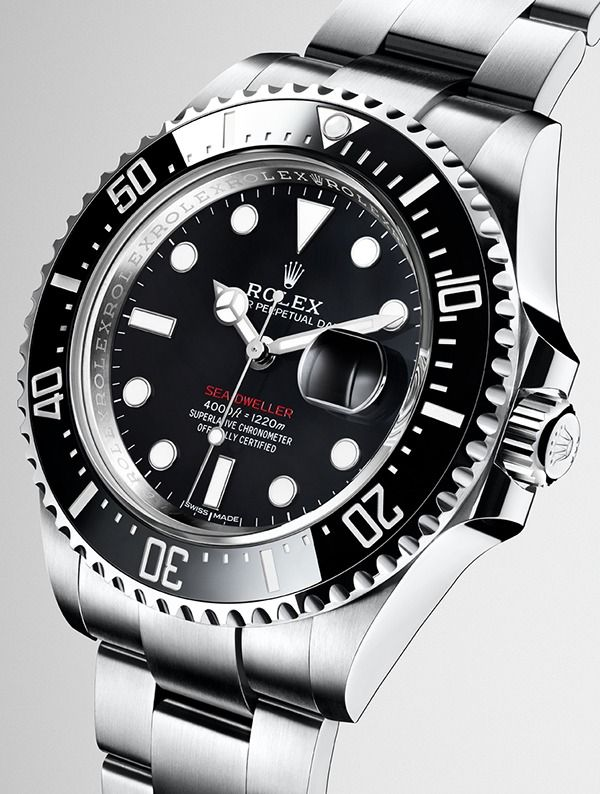 a49a1dcb2e0 The new Rolex Sea-Dweller in Oystersteel with a black Cerachrom bezel in  ceramic