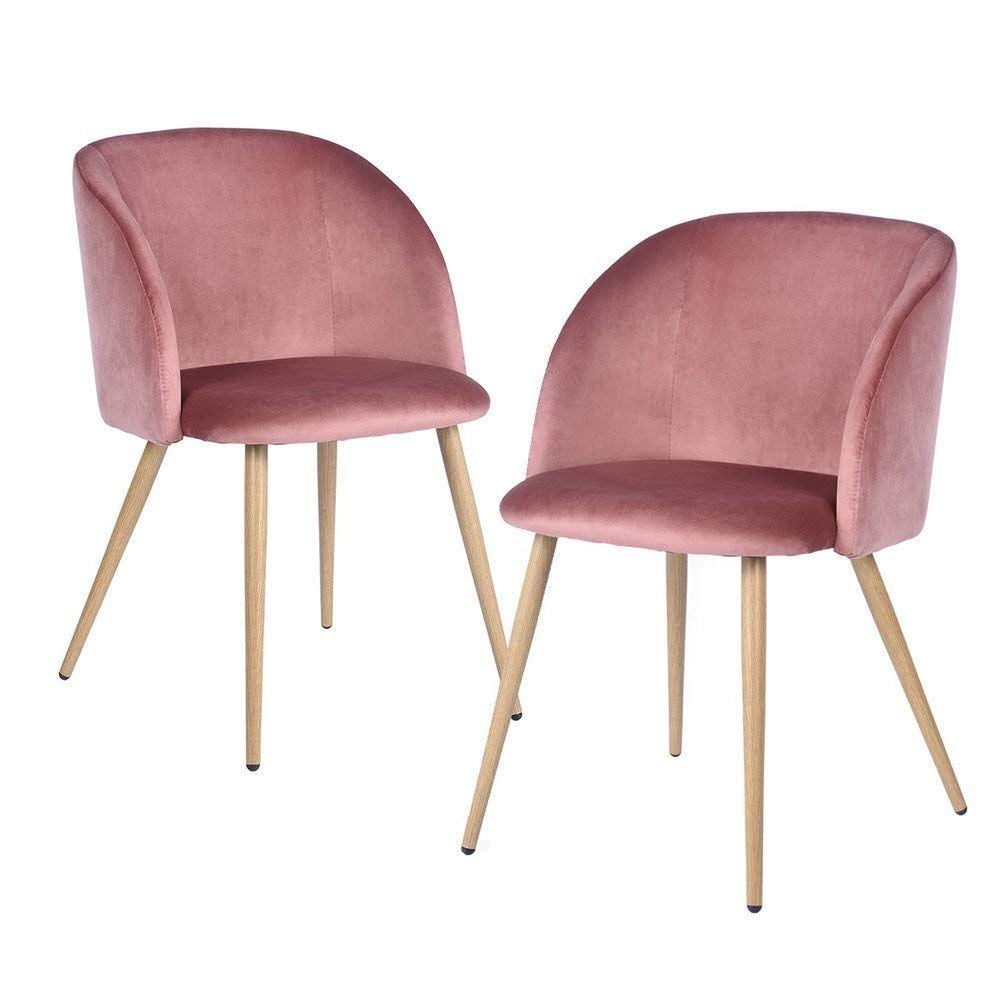Eggree 2er Set Vintager Retro Sessel Polstersessel Samt Lounge Sessel Clubsessel Fernsehsessel Stie Wohnzimmer Sessel Skandinavisches Esszimmer Esszimmerstuhl