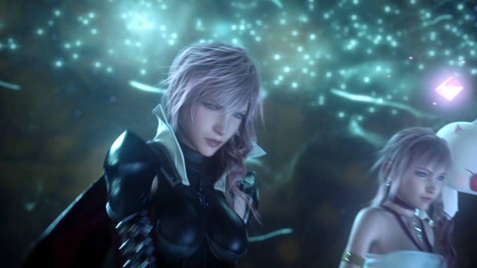 Lightning And Serah Farron Final Fantasy Xiii