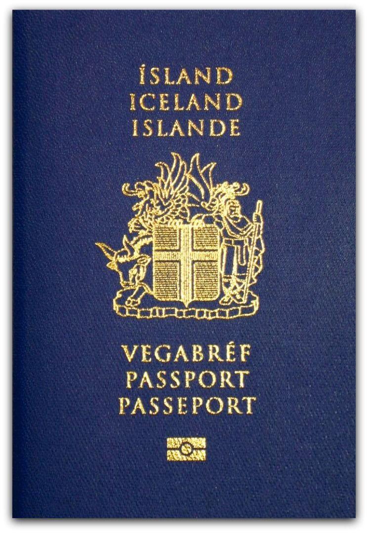 Iceland Passport, #Islandia #Iceland #Pasaporte | Passport ...