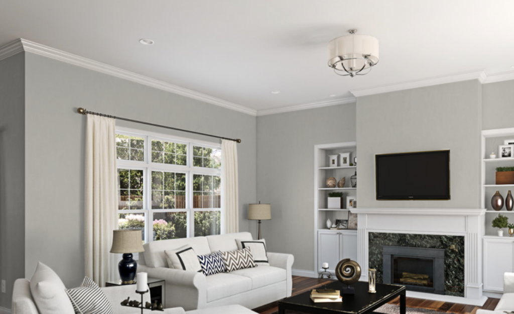Sherwin Williams Repose Gray Living Room Paint Colors